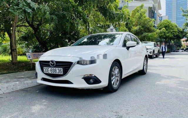 Bán Mazda 3 sản xuất 2016, màu trắng 1