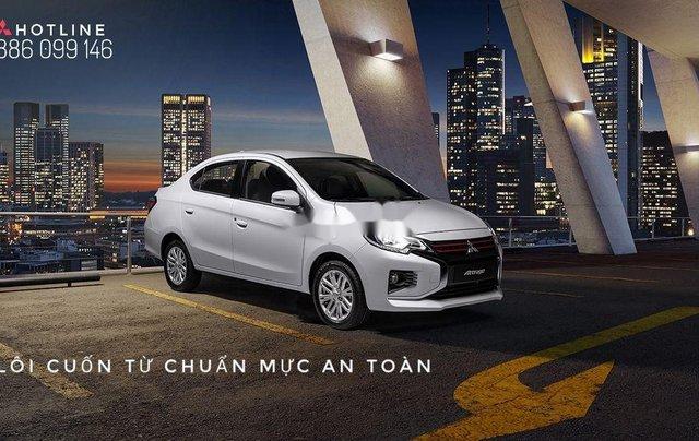 Bán Mitsubishi Attrage năm sản xuất 2020, màu bạc, nhập khẩu. Ưu đãi cuối năm1