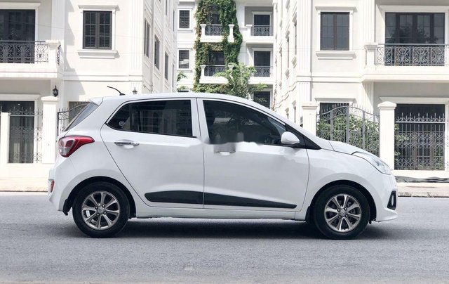 Bán Hyundai Grand i10 2016, màu trắng, nhập khẩu số sàn6