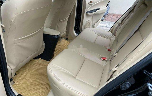 Bán Toyota Vios 1.5E CVT đời 2019, màu đen số tự động, giá 495tr8