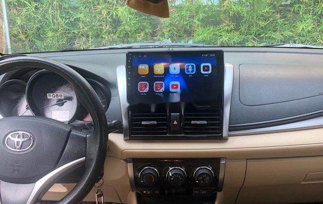 Chính chủ bán Toyota Vios đời 2017, màu vàng cát7