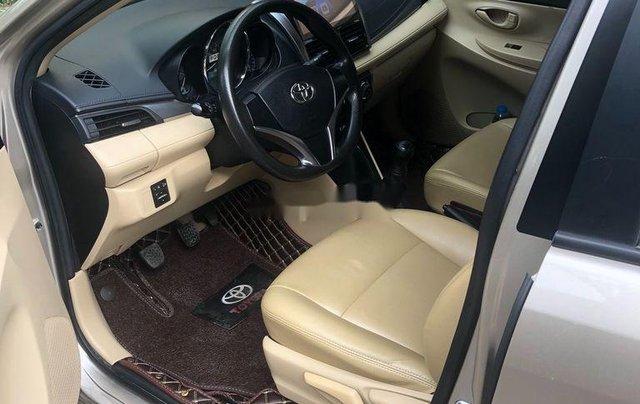 Chính chủ bán Toyota Vios đời 2017, màu vàng cát6