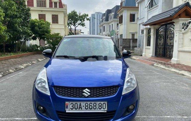 Bán Suzuki Swift sản xuất 2014, màu xanh lam chính chủ1
