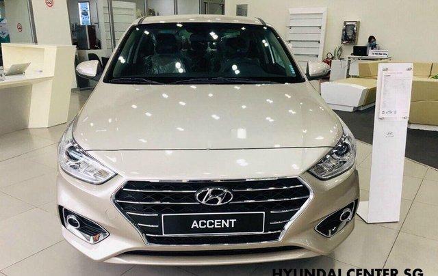 Bán Hyundai Accent đời 2020, màu vàng, mới hoàn toàn1