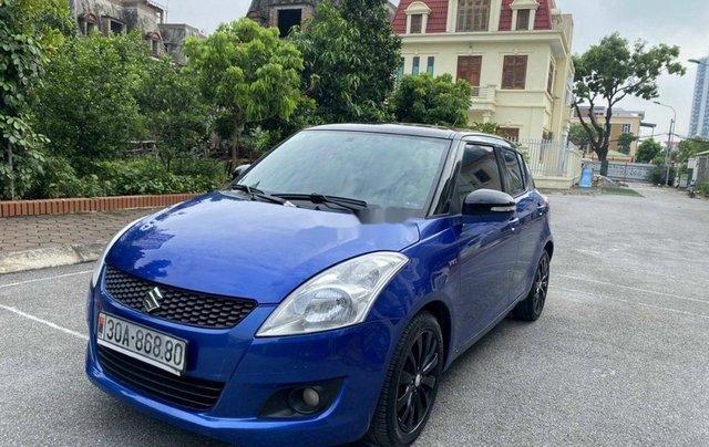 Bán Suzuki Swift sản xuất 2014, màu xanh lam chính chủ0