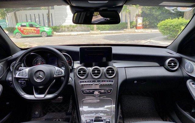 Bán Mercedes C300 AMG đời 2018, màu đỏ9