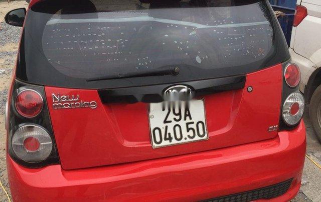 Bán Kia Morning đời 2010, màu đỏ, nhập khẩu nguyên chiếc3
