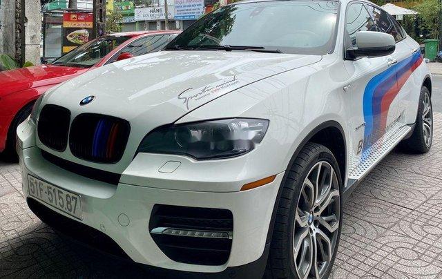 Bán xe BMW X6 sản xuất năm 2008, màu trắng, nhập khẩu, giá 660tr4