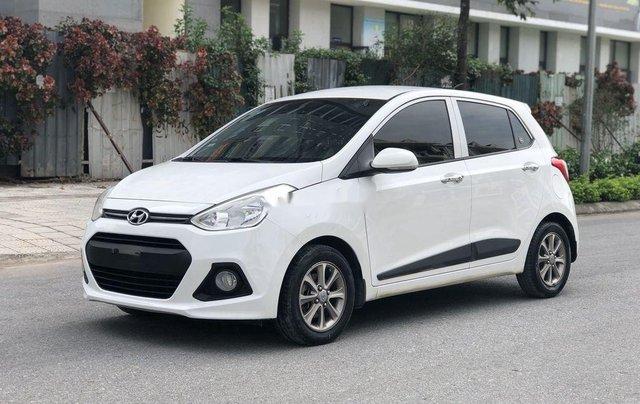 Bán Hyundai Grand i10 2016, màu trắng, nhập khẩu số sàn2