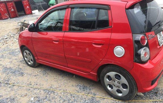 Bán Kia Morning đời 2010, màu đỏ, nhập khẩu nguyên chiếc5