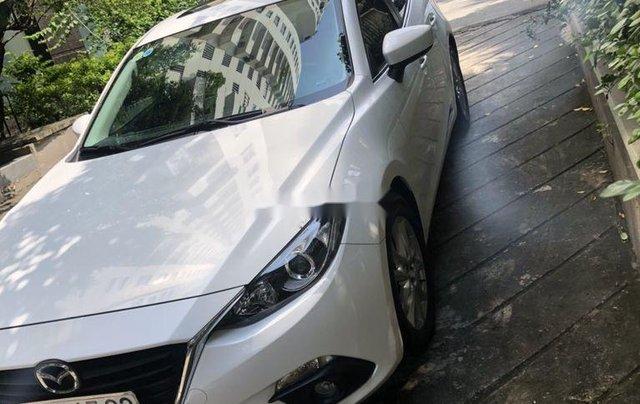 Bán Mazda 3 sản xuất 2016, màu trắng như mới, giá 515tr1
