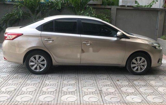 Chính chủ bán Toyota Vios đời 2017, màu vàng cát2