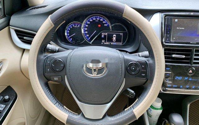 Bán Toyota Vios G 1.5CVT đời 2020, màu trắng số tự động, giá chỉ 540 triệu10