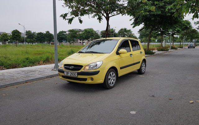 Bán Hyundai Getz sản xuất 2010, biển HN, 1 chủ từ đầu1