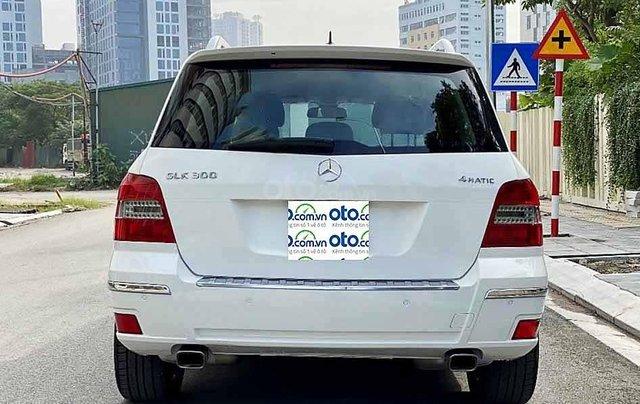 Cần bán Mercedes GLK300 4Matic năm sản xuất 2010, màu trắng, giá tốt1