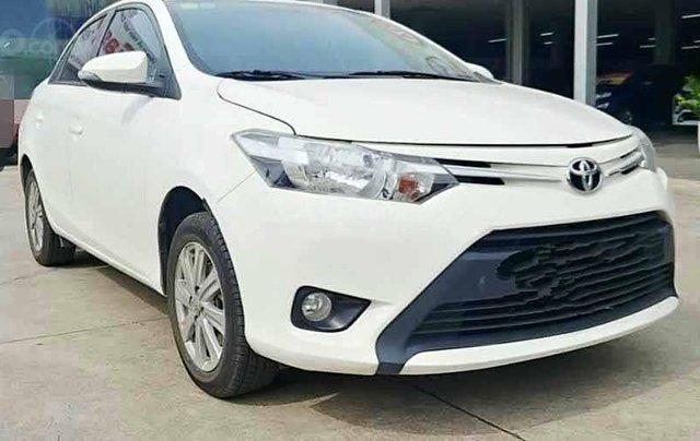 Bán ô tô Toyota Vios năm 2016, màu trắng, số tự động0
