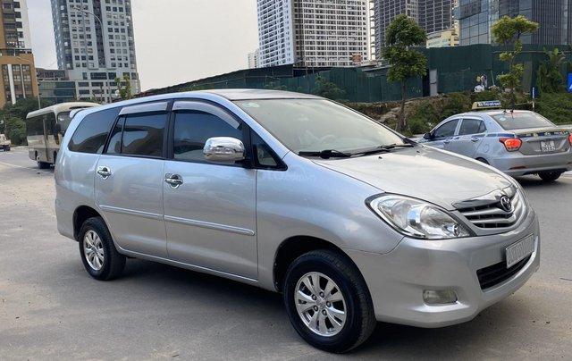 Chính chủ bán Toyota Innova G 2009, màu bạc, biển Hà Nội2