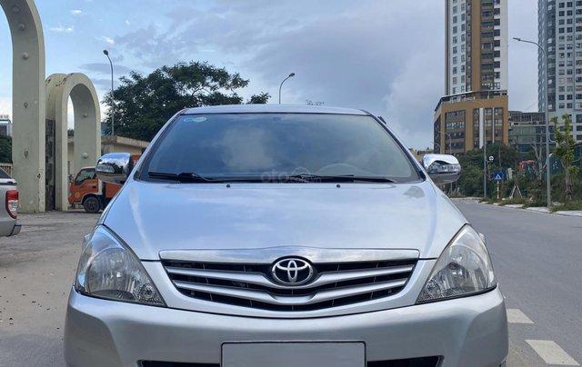 Chính chủ bán Toyota Innova G 2009, màu bạc, biển Hà Nội0