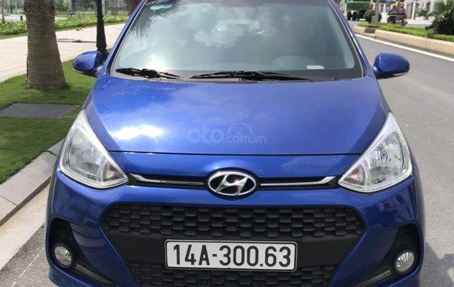 Hỗ trợ mua xe giá thấp với chiếc Hyundai Grand i10 đời 2018, xe còn mới, chạy ít4