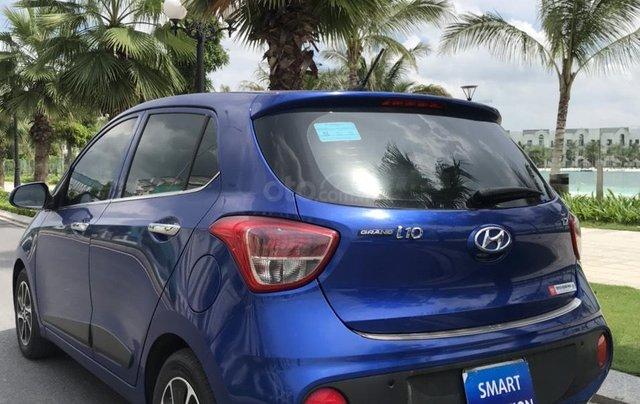 Hỗ trợ mua xe giá thấp với chiếc Hyundai Grand i10 đời 2018, xe còn mới, chạy ít5