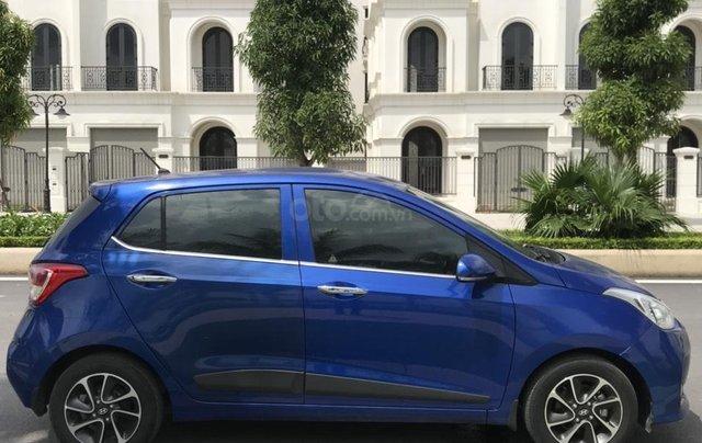 Hỗ trợ mua xe giá thấp với chiếc Hyundai Grand i10 đời 2018, xe còn mới, chạy ít12