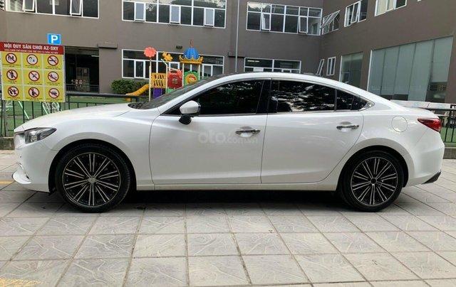 Cần bán Mazda 6 Premium SX 2016 AT, màu trắng, máy nguyên, tư nhân chính chủ1