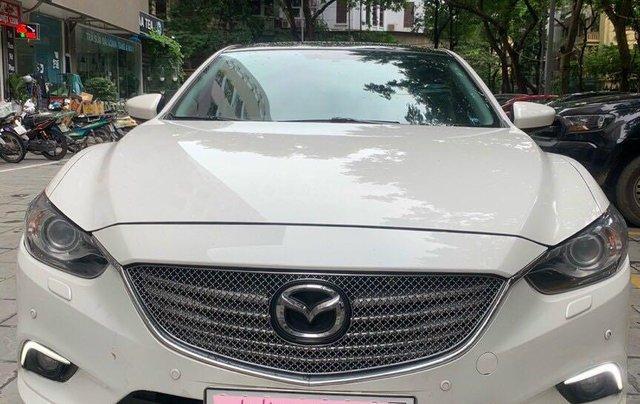 Cần bán Mazda 6 Premium SX 2016 AT, màu trắng, máy nguyên, tư nhân chính chủ0