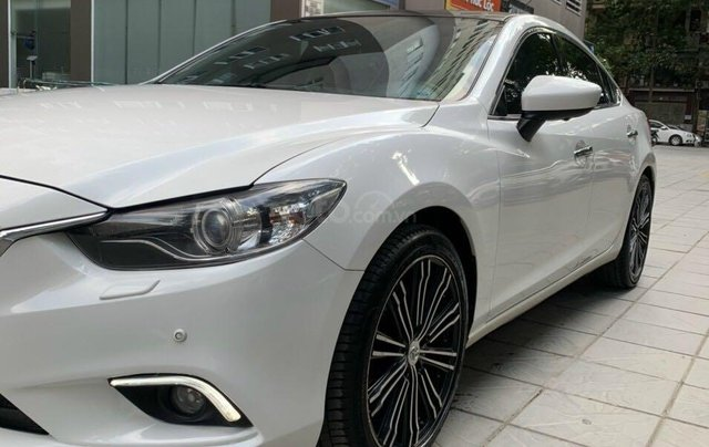 Cần bán Mazda 6 Premium SX 2016 AT, màu trắng, máy nguyên, tư nhân chính chủ3