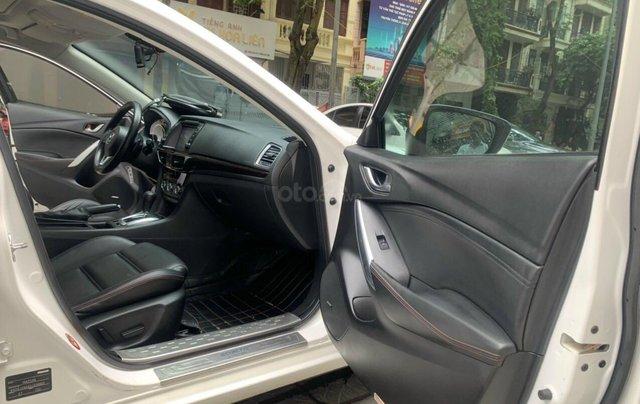 Cần bán Mazda 6 Premium SX 2016 AT, màu trắng, máy nguyên, tư nhân chính chủ10