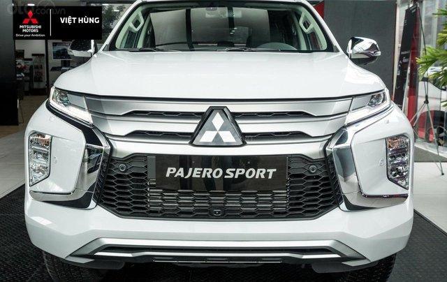 Mitsubishi Pajero Sport 2.4AT sản xuất 2020, nhập khẩu nguyên chiếc, giá tốt nhất miền Bắc0