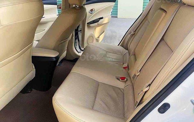 Xe Toyota Vios năm sản xuất 2019, màu trắng còn mới, giá tốt2