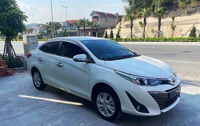 Xe Toyota Vios năm sản xuất 2019, màu trắng còn mới, giá tốt0