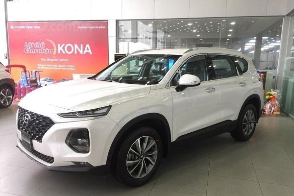 Bán Hyundai Santa Fe 2020 giá cạnh tranh tại Hà Nội0