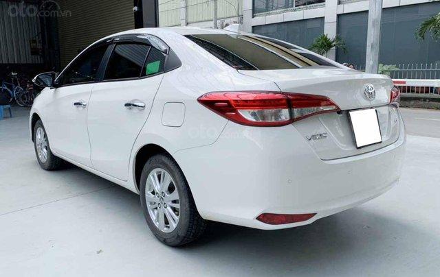 Bán Vios G 2020 tự động màu trắng một chủ cực đẹp, mới như xe hãng4