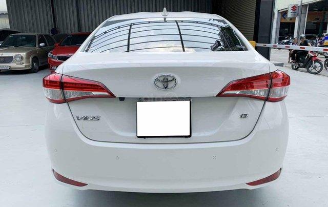 Bán Vios G 2020 tự động màu trắng một chủ cực đẹp, mới như xe hãng5