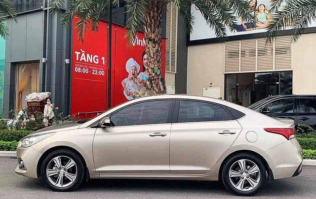 Bán Hyundai Accent sản xuất 2020, màu vàng còn mới3