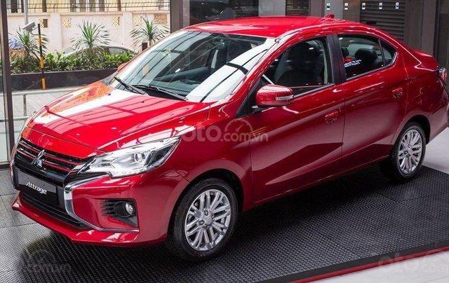 Bán xe Mitsubishi Attrage 2020 mới giá hỗ trợ thuế trước bạ siêu hấp dẫn, chỉ 140 triệu lấy xe, đủ màu sẵn xe giao ngay2