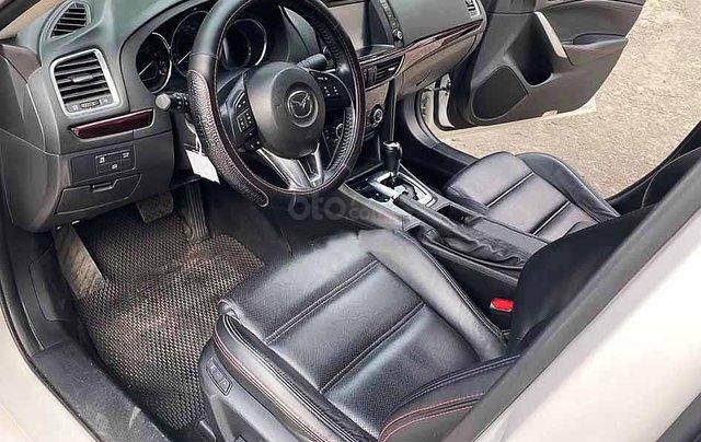 Bán xe Mazda 6 sản xuất năm 2015, màu trắng còn mới, giá tốt2