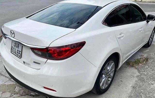 Bán xe Mazda 6 sản xuất năm 2015, màu trắng còn mới, giá tốt1