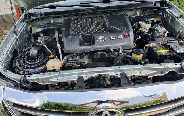 Bán ô tô Toyota Fortuner năm 2016, màu bạc số sàn, máy dầu10