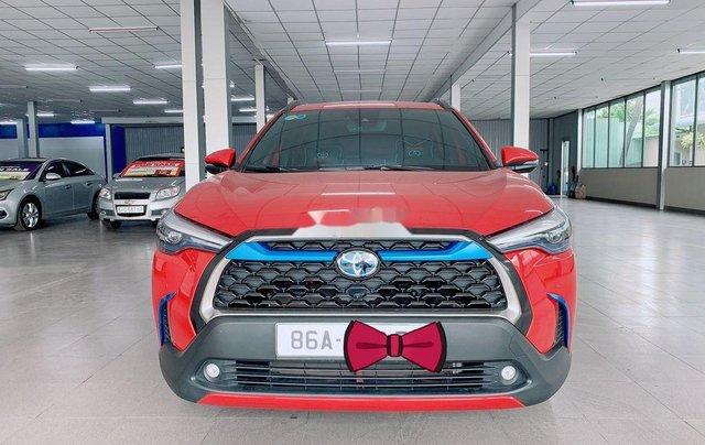 Bán Toyota Corolla Cross đời 2020, màu đỏ, nhập khẩu4