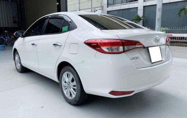 Bán Toyota Vios G 1.5CVT đời 2020, màu trắng số tự động, giá chỉ 540 triệu4
