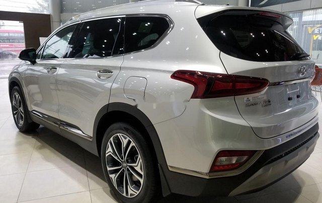 Bán Hyundai Santa Fe sản xuất 2019, màu bạc3