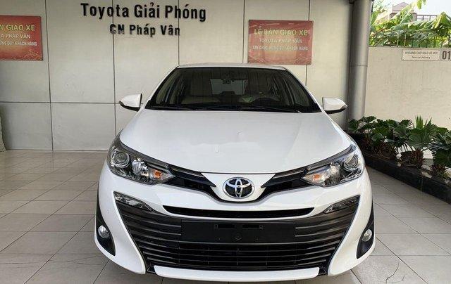 Bán Toyota Vios sản xuất 2020, màu trắng0