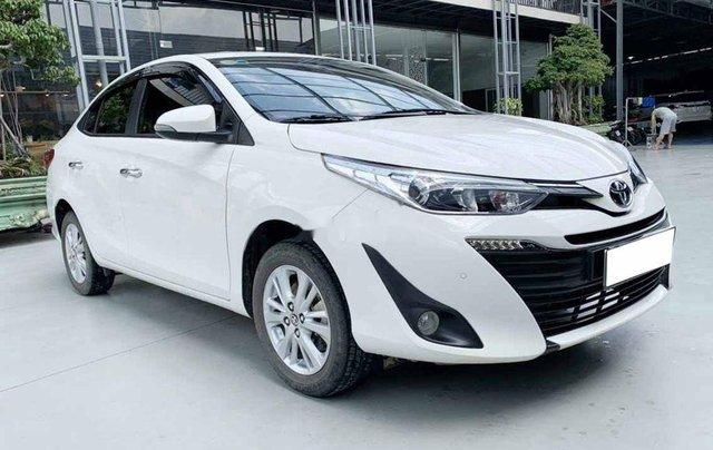 Bán Toyota Vios G 1.5CVT đời 2020, màu trắng số tự động, giá chỉ 540 triệu0