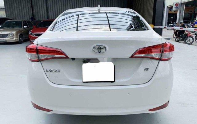 Bán Toyota Vios G 1.5CVT đời 2020, màu trắng số tự động, giá chỉ 540 triệu3