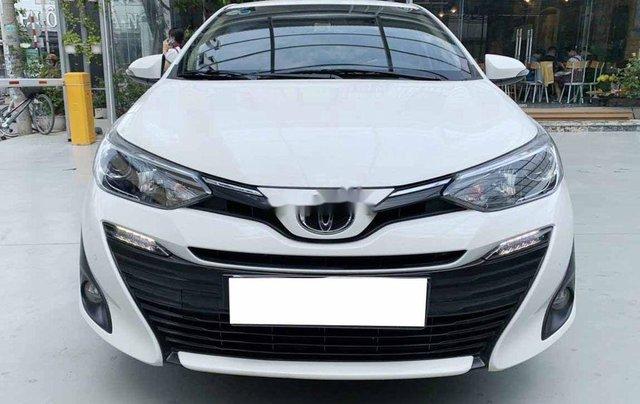Bán Toyota Vios G 1.5CVT đời 2020, màu trắng số tự động, giá chỉ 540 triệu1