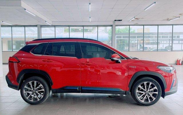 Bán Toyota Corolla Cross đời 2020, màu đỏ, nhập khẩu3