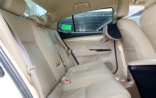 Bán Toyota Vios G 1.5CVT đời 2020, màu trắng số tự động, giá chỉ 540 triệu6