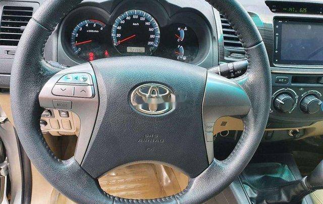 Bán ô tô Toyota Fortuner năm 2016, màu bạc số sàn, máy dầu4